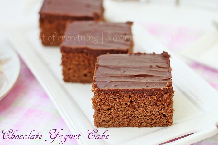 chocolate yogurt cake | Roxanashomebaking.com