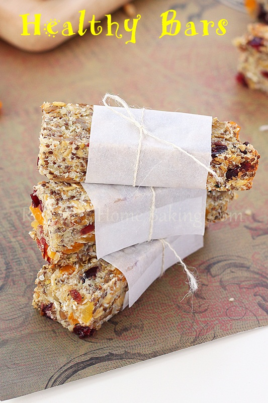 Ever since I shared the recipe for dried fruit and seed bars last year ...
