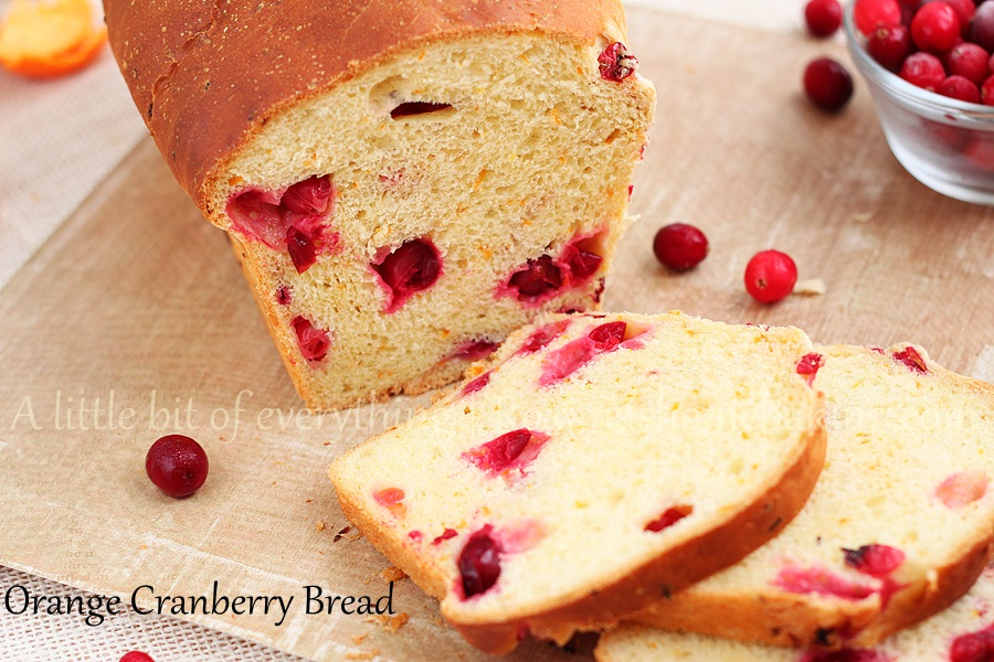 Orange Cranberry Bread