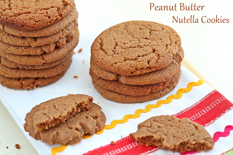 Peanut Butter Nutella Cookies Recipe