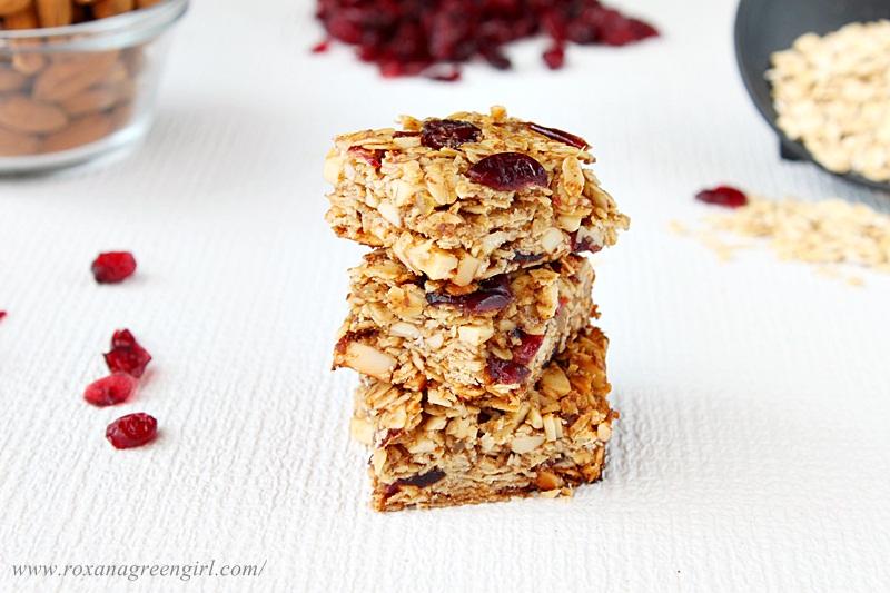 ginger granola bars | roxanashomebaking.com