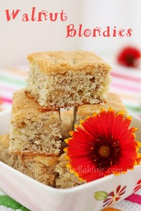 Walnut Blondies http://atreatsaffair.com/