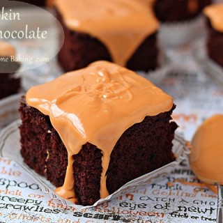 Pumpkin chocolate cake roxanashomebaking 5