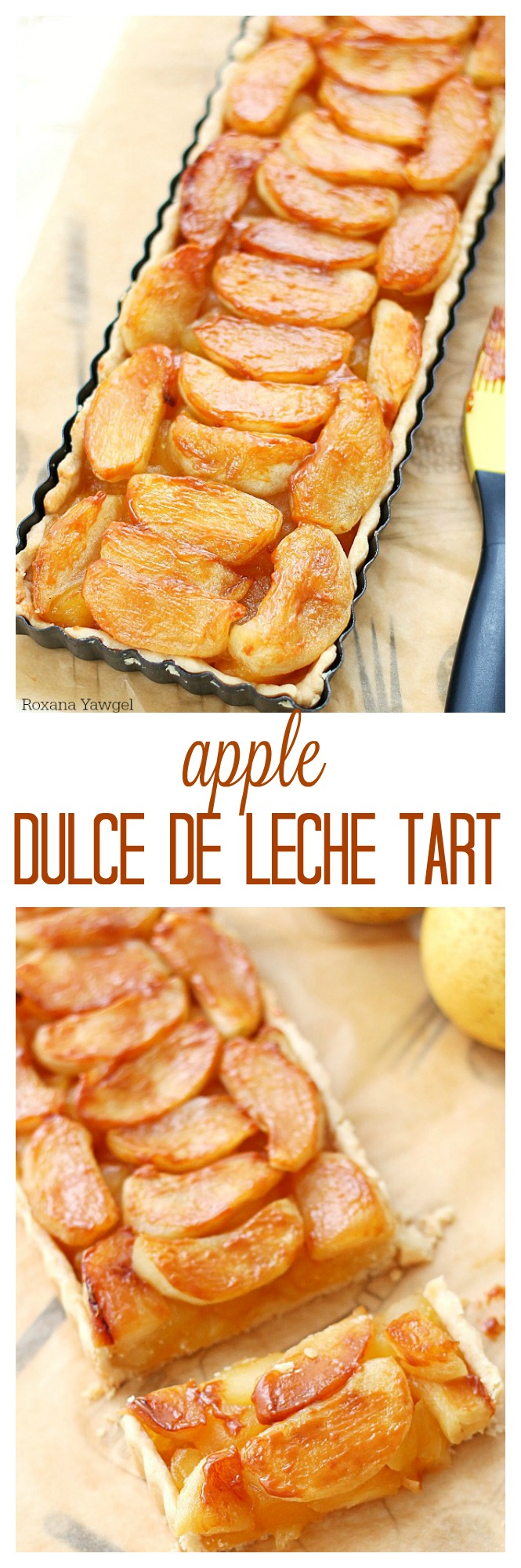 apple dulce de leche tart recipe