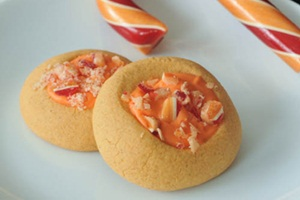 Orange creamsicle shortbread cookies #25recipestoXmas
