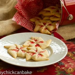 Poinsettia-Cookies