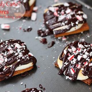 candy cane smores #recipe roxanashomebaking.com