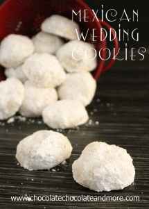 Mexican Wedding Cookies #25recipestoXmas