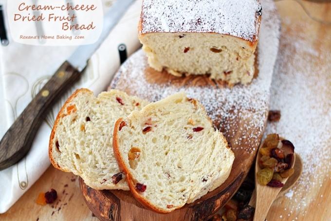 healthy fruit bread dehydrated fruit