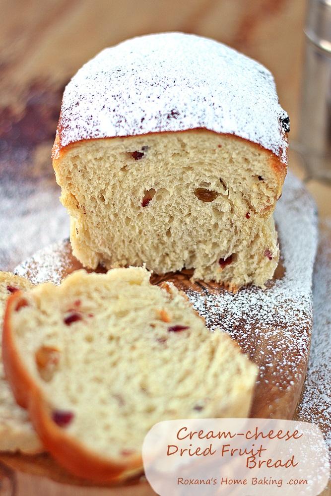 Cream cheese dried fruit bread recipe