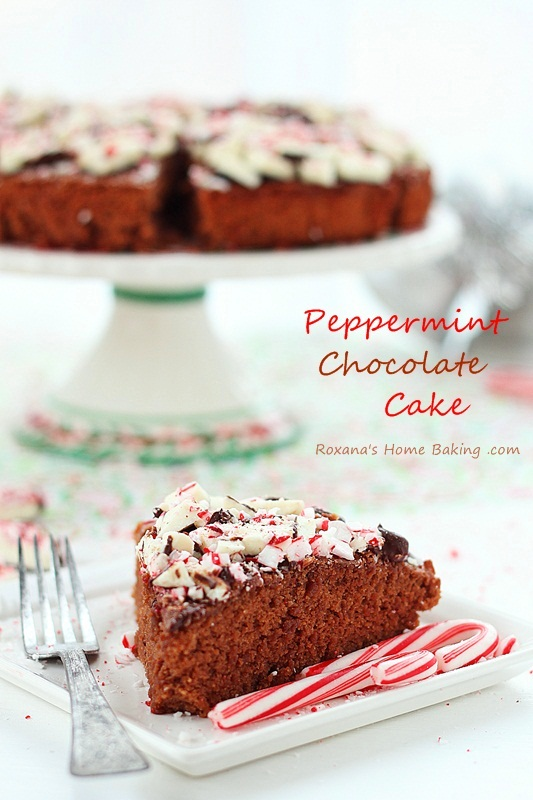 Peppermint Chocolate Cake - a trEATs affair