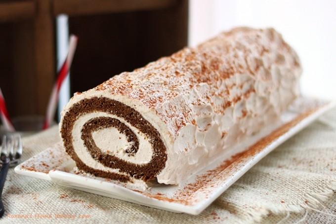 Jelly Roll Cake Recipe And Procedure: Gingerbread Roll Cake Recipe