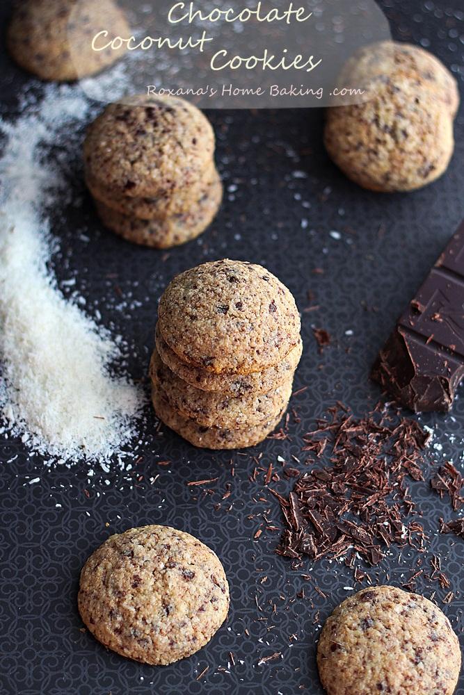 chocolate coconut cookies recipe roxanashomebaking 3