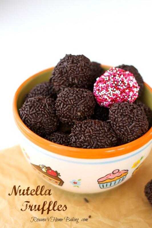 Nutella Truffles Recipe 2