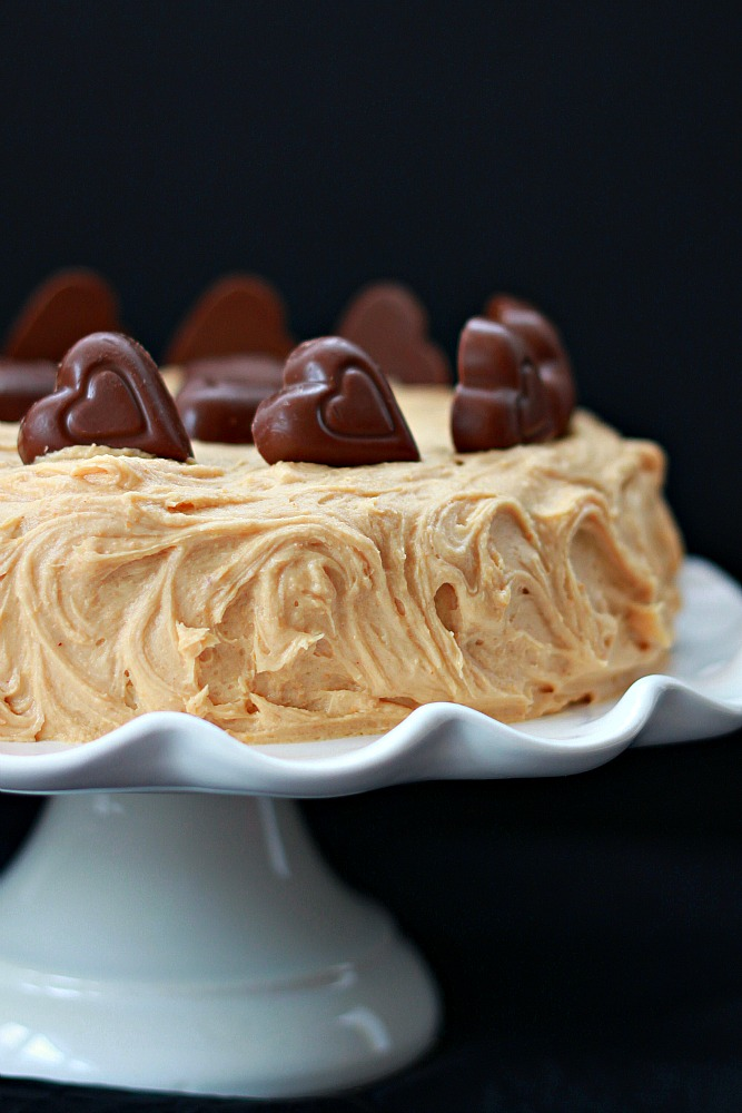 peanut butter cake with peanut butter frosting recipe 1