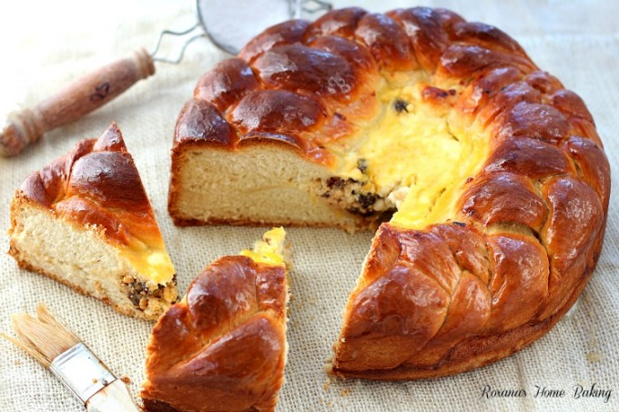 PascaRomanian Easter bread recipe