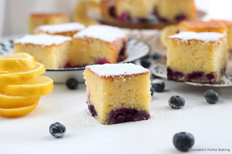 Blueberry Lemon Cake Cooking Light