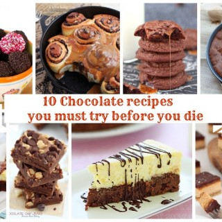 10 chocolate recipes you must try before you die