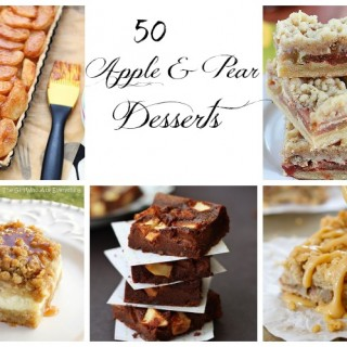 50 apple and pear dessert recipes