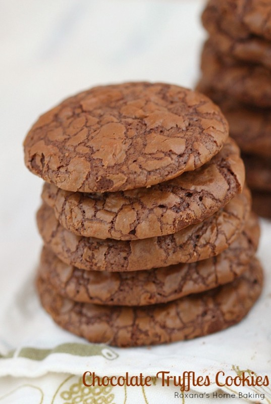 Chocolate truffles cookies recipe 3