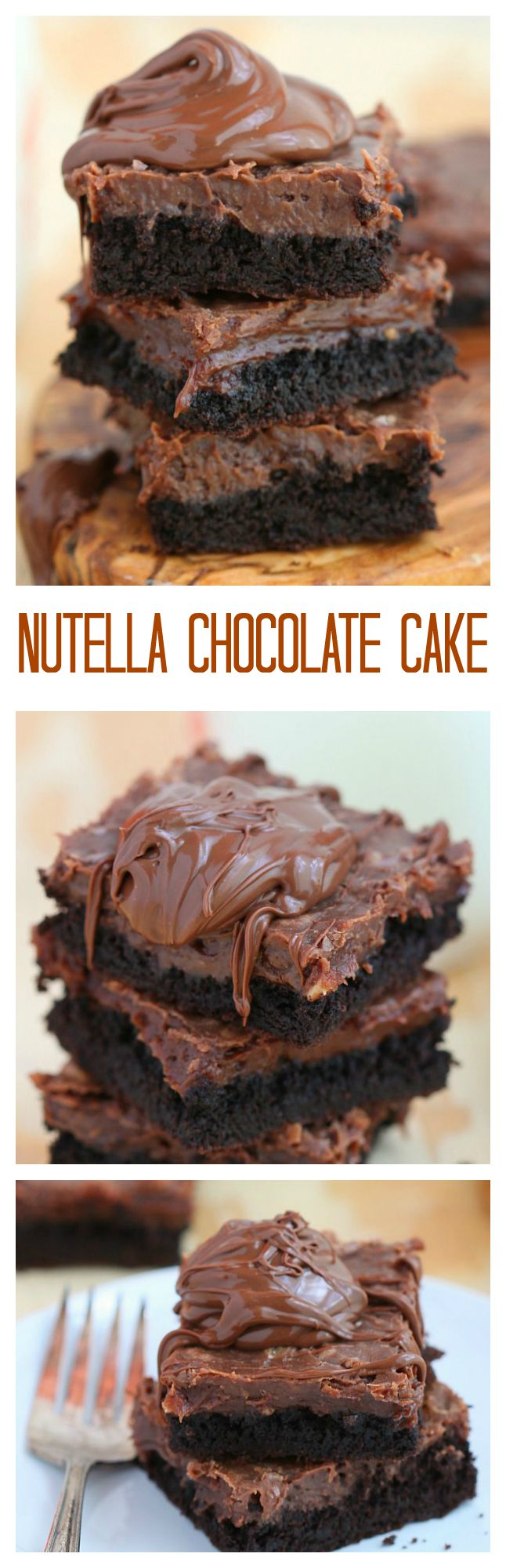 One Of The Easiest Cake To Make This Nutella Chocolate Cake Is So Rich And Happy Baking