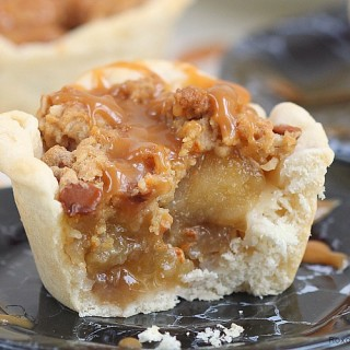apple pie cups with cinnamon streusel topping recipe 2
