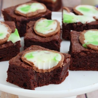 Screme eggs Cadbury brownies