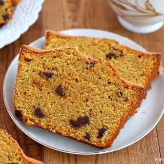 Chocolate chip pumpkin quick bread