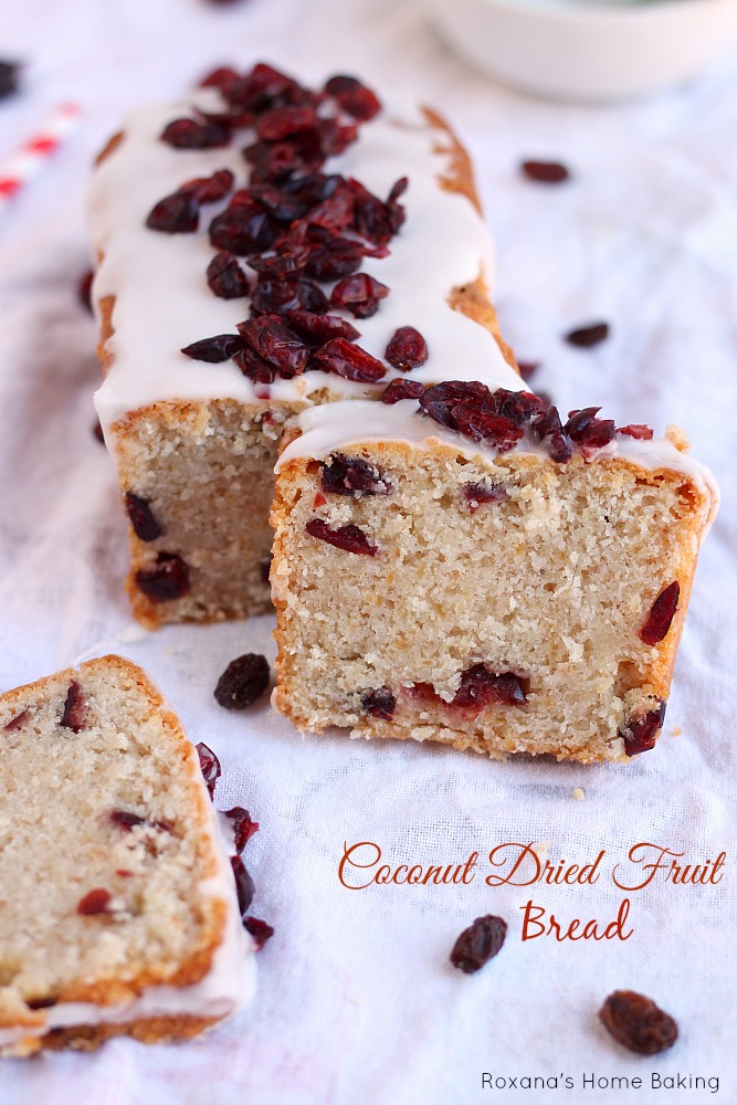 Coconut dried fruit bread recipe - Make delicious sweet bread christmas ...