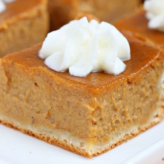 pumpkin pie bars recipe 1