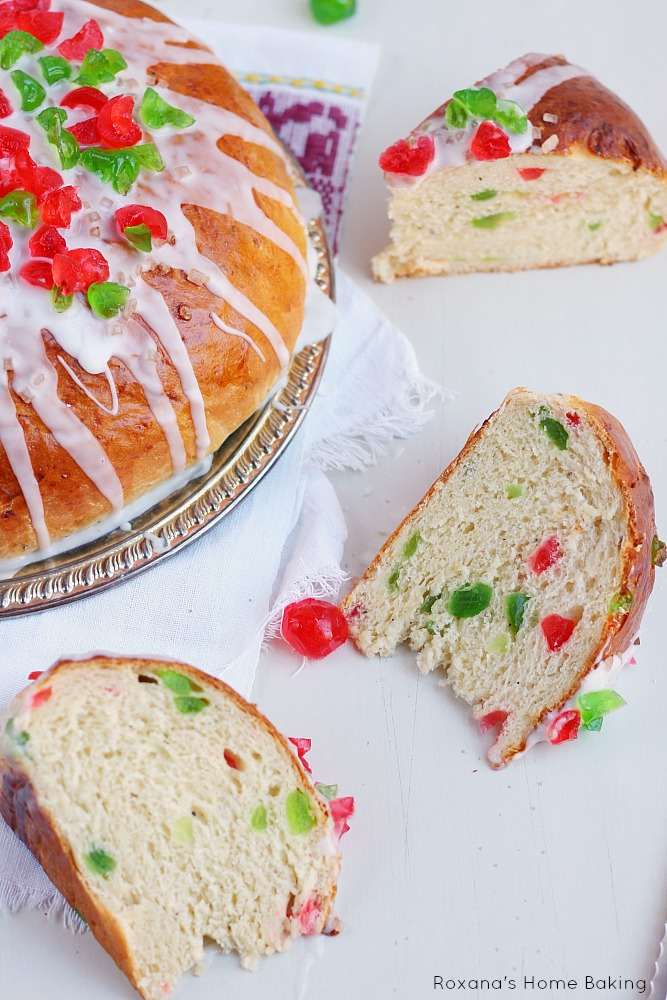fruit bread christmas