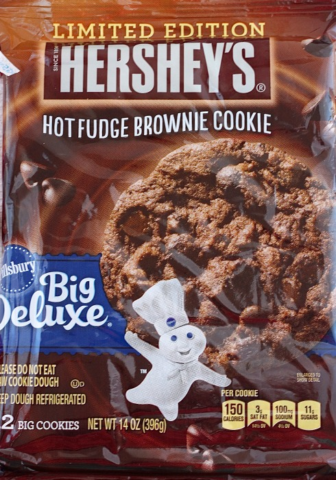 pillsbury hot fudge brownie cookie dough