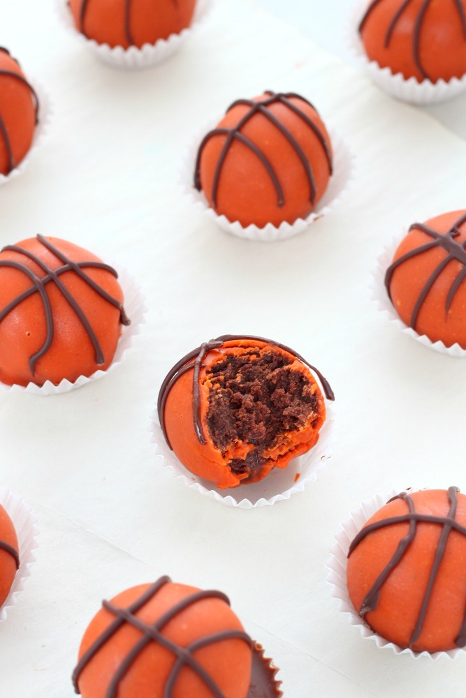 Reese's peanut butter and chocolate truffles