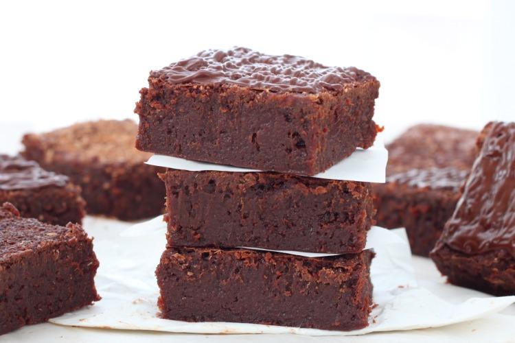 recipe: gooey chocolate fudge brownie recipe [35]