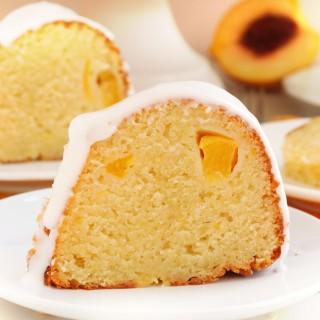 Peach pie cake