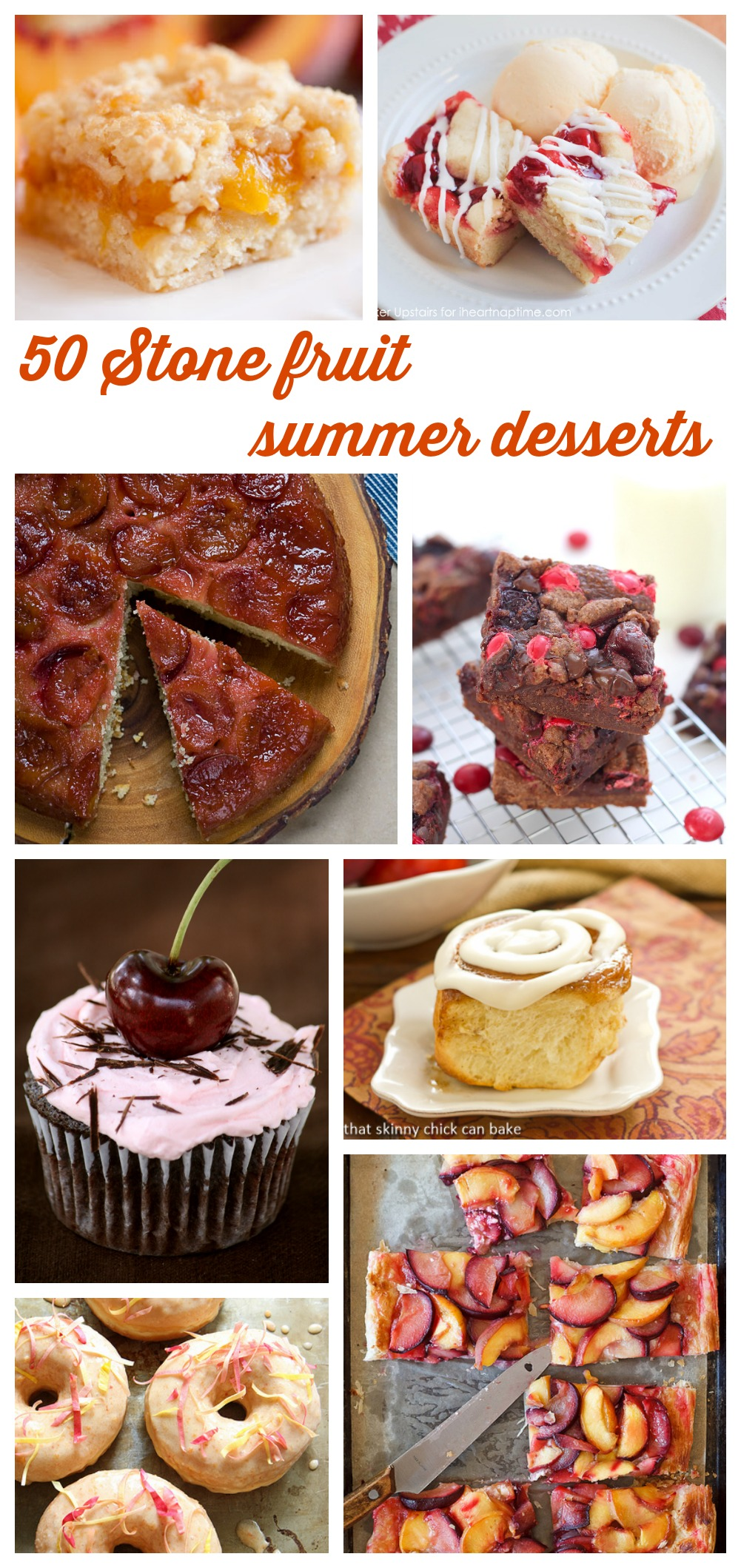 50 Stone fruit summer desserts