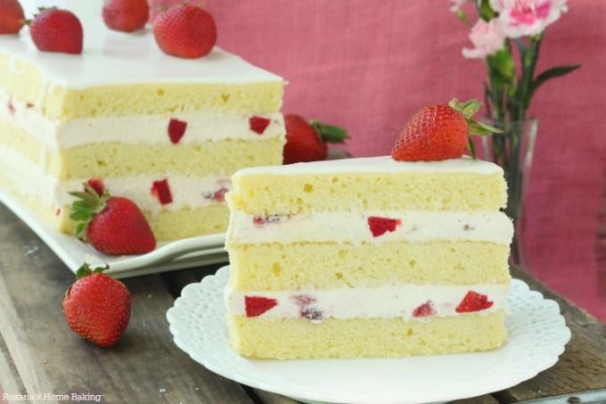 Made From Scratch Strawberry Pound Cake