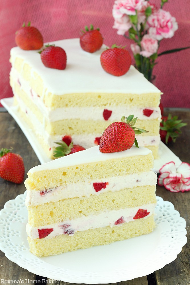 Shortcake Sheet Cake Recipe