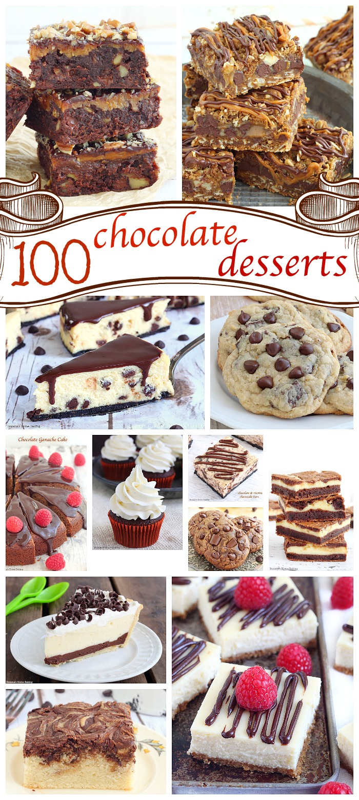 Over 100 chocolate desserts to satisfy your cravings! From cookies to cakes, there's something for everyone! Come, join the fun #chocolateparty