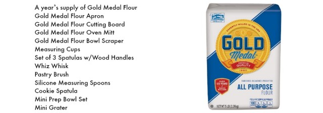 Gold Medal Flour Prize Package