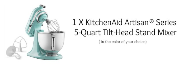 KitchenAid prize package