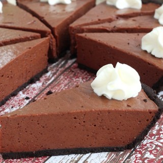 No bake silky chocolate pie recipe