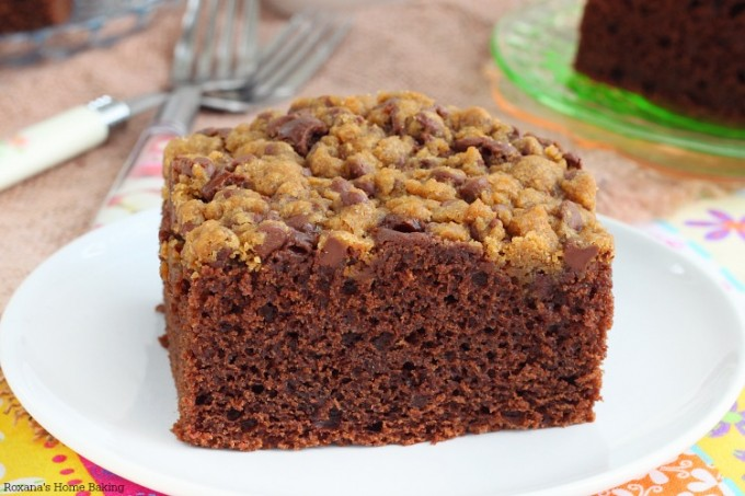 Chocolate Cake With Streusel Topping Recipe