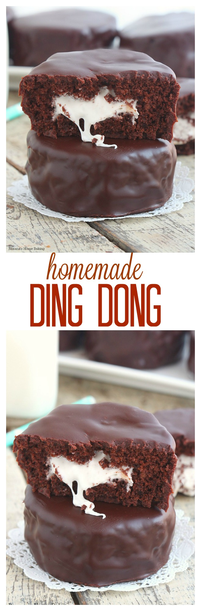 Homemade ding dong recipe