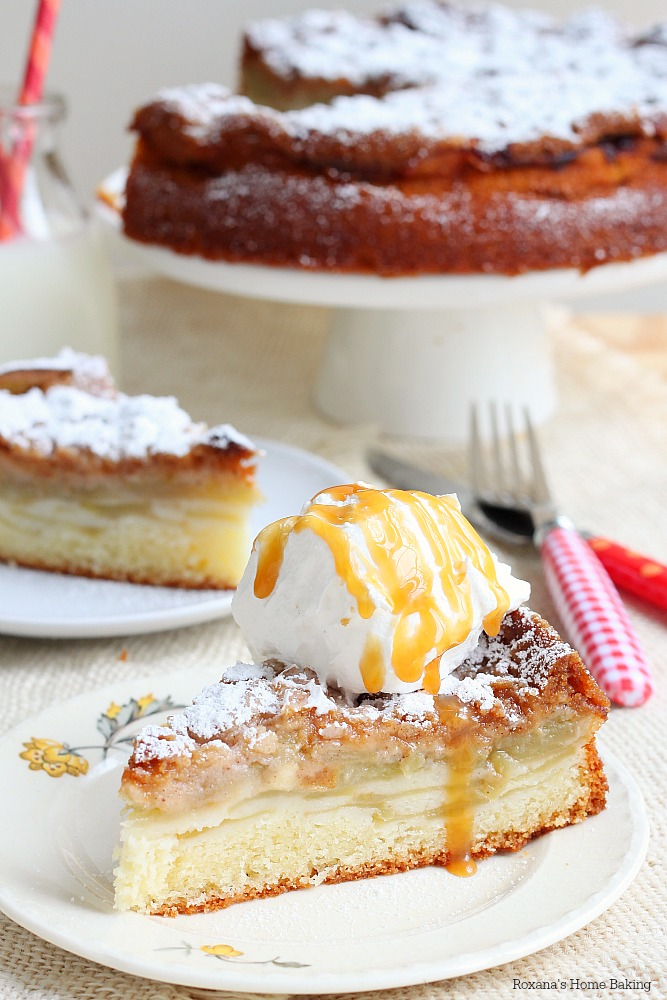 Apple cake with streusel topping recipe