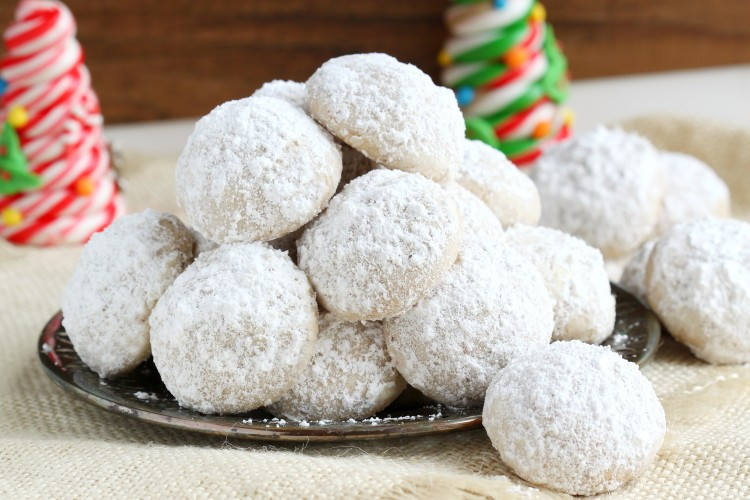 melt in your mouth snowball cookies