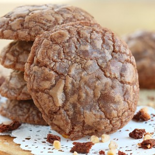 toffee crunch chocolate cookies recipe