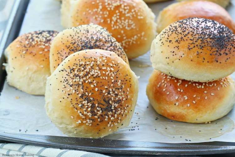 homemade burger buns with step by step video. Black Bedroom Furniture Sets. Home Design Ideas