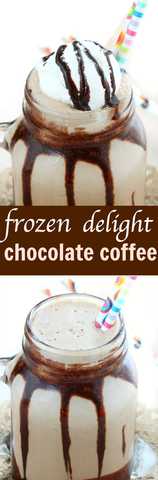 frozen chocolate coffee delight