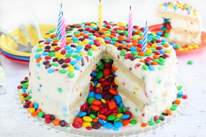 Piñata Cake recipe - how to make a piñata cake